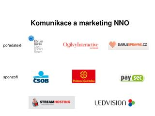 Komunikace a marketing NNO