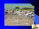 INTENDENCIA MUNICIPAL DE COLONIA  Vertederos de residuos s lidos y l quidos
