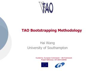 TAO Bootstrapping Methodology