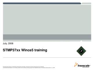 STMP37xx Wince5 training