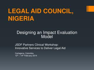 LEGAL AID COUNCIL, NIGERIA