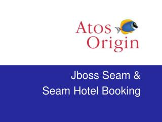 Jboss Seam & Seam Hotel Booking