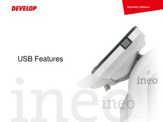 USB Features