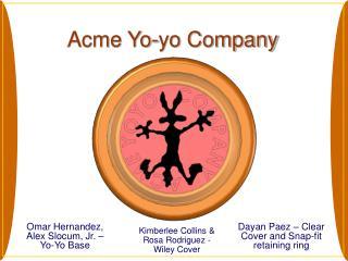 Acme Yo-yo Company