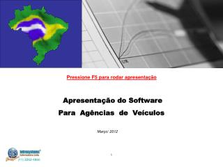 Apresenta  o do Software Para  Ag ncias  de  Ve culos