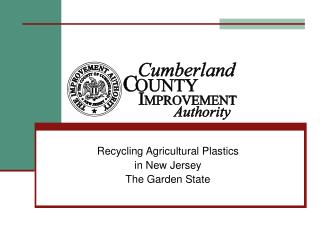 Recycling Agricultural Plastics in New Jersey The Garden State