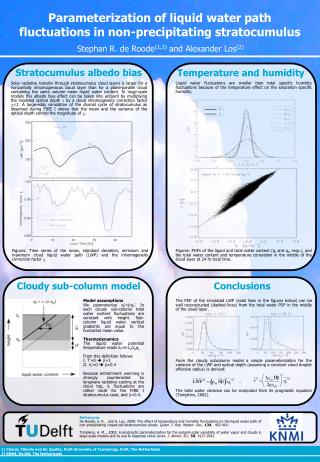 Parameterization of liquid water path fluctuations in non-precipitating stratocumulus