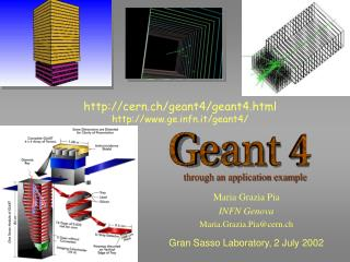 cern.ch/geant4/geant4.html gefn.it/geant4/