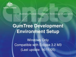 GumTree Development Environment Setup