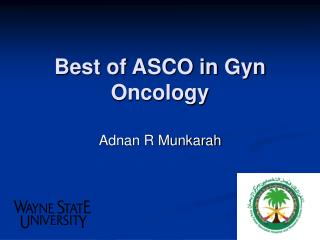 Best of ASCO in Gyn Oncology