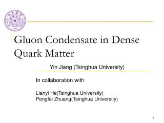 Gluon Condensate in Dense Quark Matter