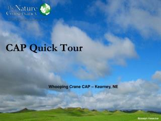 CAP Quick Tour