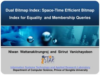Dual Bitmap Index: Space-Time Efficient Bitmap  Index for Equality  and Membership Queries