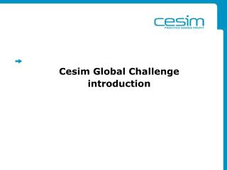 cesim global challenge Learn about working at cesim join linkedin today for free see who you know at cesim, leverage your professional network, and get hired.