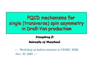 PQCD mechanisms for  single (transverse) spin asymmetry in Drell-Yan production