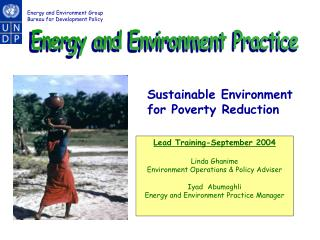 Energy and Environment Practice