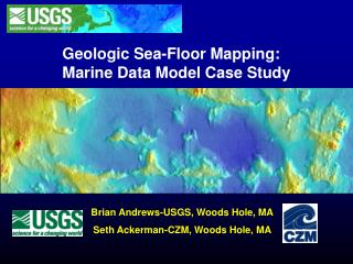 Geologic Sea-Floor Mapping: Marine Data Model Case Study