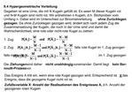 6.4 Hypergeometrische Verteilung