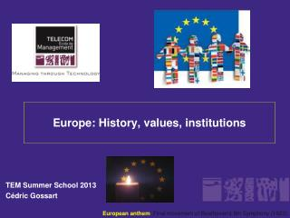 Europe: History, values, institutions