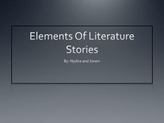 Elements Of Literature Stories