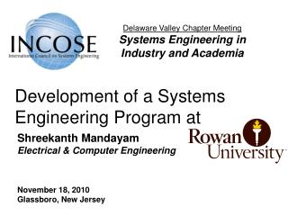 Development of a Systems Engineering Program at