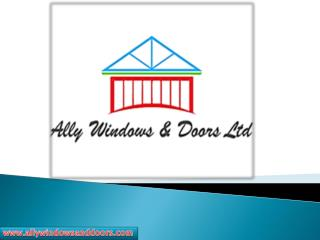 Buy Aluminium Bi Folding Doors !