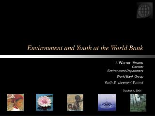 Environment and Youth at the World Bank
