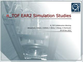 n \_TOF EAR2 Simulation Studies