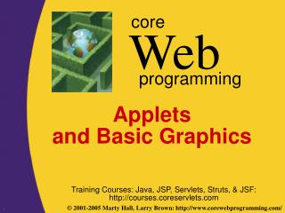 Applets  and Basic Graphics
