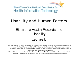 Designing Real-World  Electronic Health Record Systems