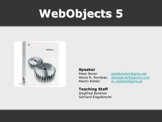 WebObjects  5