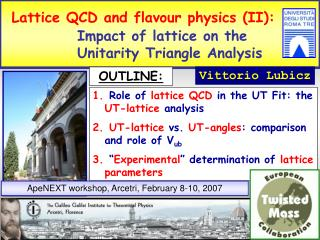 Lattice QCD and flavour physics (II):             Impact of lattice on the