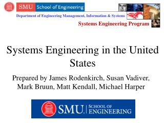 Systems Engineering in the United States
