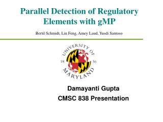 Parallel Detection of Regulatory Elements with gMP