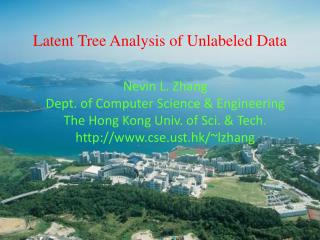 Latent Tree Analysis of Unlabeled Data