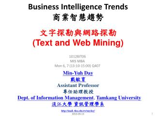Business Intelligence Trends ??????