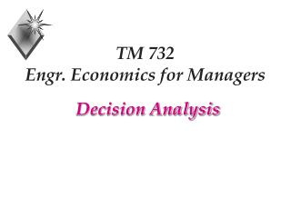 TM 732 Engr. Economics for Managers