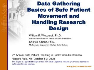Data Gathering Basics of Safe Patient Movement and Handling Research Design