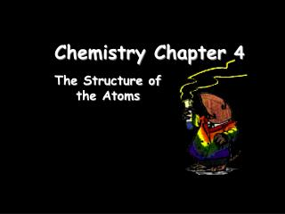 Chemistry Chapter  4