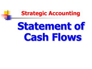 Strategic Accounting