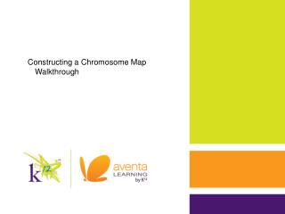 Constructing a Chromosome Map Walkthrough