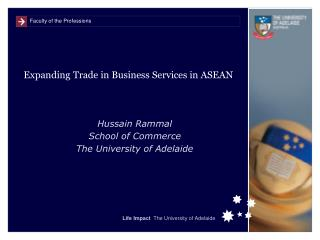 Expanding Trade in Business Services in ASEAN