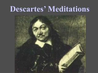descartes s meditations argument for god s existence Article descartes's ontological proof of god's existence cecilia wee this paper argues that an examination of the ontology that underpins descartes's fifth meditation ontological proof of god's existence will.