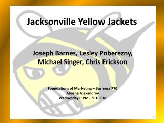 Jacksonville Yellow Jackets
