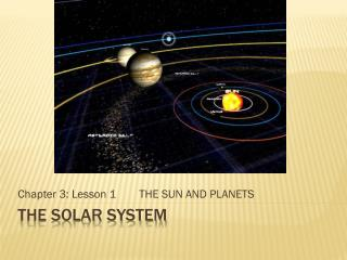 the solar system chapter 1