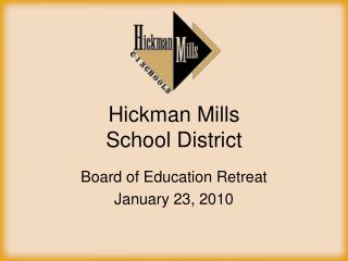 Hickman Mills  School District