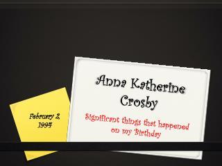 Anna Katherine Crosby