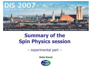 Summary of the Spin Physics session
