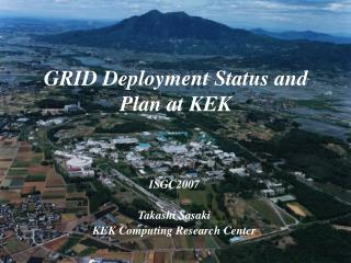 GRID Deployment Status and Plan at KEK