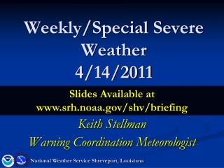 Weekly/Special Severe Weather 4/14/2011